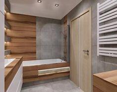 Aranżacje wnętrz - Łazienka: łazienka drewno plus szarość - Łazienka, styl nowoczesny - All Design Agnieszka Lorenc . Przeglądaj, dodawaj i zapisuj najlepsze zdjęcia, pomysły i inspiracje designerskie. W bazie mamy już prawie milion fotografii!