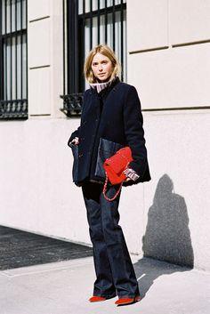 New York Fashion Week AW 2015....Pernille