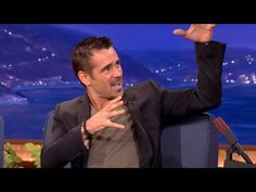 Colin Farrell Gets Crotch-Punched In The Face - CONAN - Oh Collin your are so funny ...