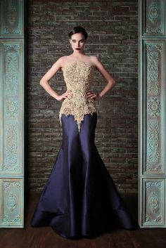 All Fashions : Oh, Checkout the Drama! 4 Dramatic Evening Dresses by Rami Kadi