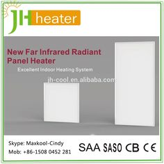 0.5KW & 1.0KW Infrared Panel Heater Electric Room Heaters, Infrared Heater, Heating Systems, Indoor Outdoor