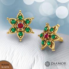 Sophornitella Royal Stud Earrings