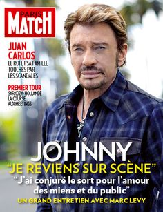 Paris Match n°3283 du 19 avril 2012, version iPad. Johnny Hallyday à la une.