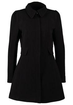 Vila JUSTI - Short coat - black - Zalando.co.uk