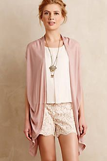Cute look.  Would like better with more contrast in colors.  Evie Split-Tail Cardigan