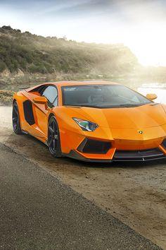 Lamborghini Aventador #Orange #Lambo #VictoryAutoMN http://victoryautoservice.com/