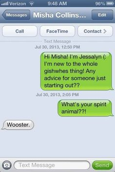So Yesterday Misha Collins Gave Out His Number On Twitter - BuzzFeed Mobile