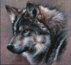 cross stitch wolves patterns | Wolf+cross+stitch+patterns+free by Darlene Van Sickle
