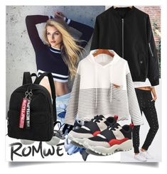 """ROMWE IV/4"" by betty-boop23 ❤ liked on Polyvore featuring romwe"