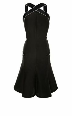 b1a5bd41460 Chanel Black Dress With Pearl Trim by Vintage Chanel for Preorder on Moda  Operandi Coco Chanel