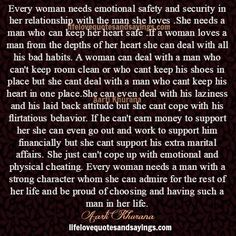 Every Woman Needs A Man Whom She Can Trust | Eternal Ink By Aarti Khurana | Pinterest | Love Me, Google and Love