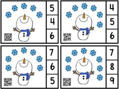Preschool Lesson Plans, Preschool Learning Activities, Winter Activities, Preschool Activities, Kids Math Worksheets, Math Projects, Math For Kids, Winter Theme, In Kindergarten
