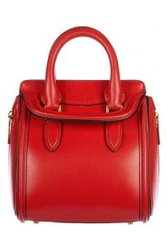 Alexander Mcqueen Women's leather handbag shopping bag purse new mini heroine