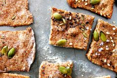 whole wheat seed crackers // kitsch+camera