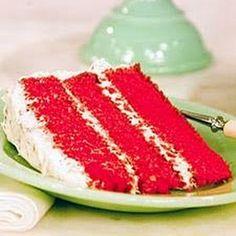 Rachel's Red Velvet Cake - I use corn oil, and walnuts instead of pecans