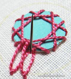 Shisha Embroidery Stitch Variation 3