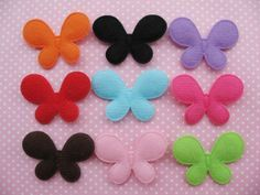 More Butterfly shapes