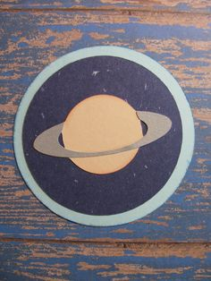 Campin Critters Badge - Planets - Astronomy