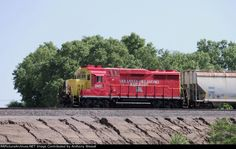 Inbound   Description:  Returning empty hoppers to the UP yard.   Photo Date:  5/22/2013  Location:  Del City, OK   Author:  Anthony Wessel  Categories:    Locomotives:  AOK 2402(GP30u)