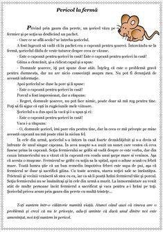 Texte despre toleranță. Scurte povestiri cu valoare educativă First Grade Worksheets, Worksheets For Kids, Experiment, Romanian Language, Kids Poems, School Lessons, School Humor, Kids Education, Preschool Activities