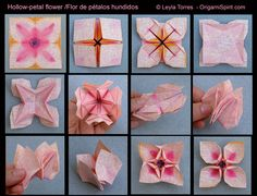 Super easy and super adorable origami lotus flower tutorial shes i just watched the video and it is one piece of paper we could totally assemble an origami team mightylinksfo