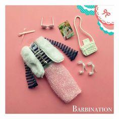 ⚜️🎀⚜️ A little fake fur never killed anyone, right? Barbie Dolls Diy, Barbie Fashionista Dolls, Barbie Dress, Barbie Outfits, Fiona Y Shrek, Girls Nail Designs, Sewing Barbie Clothes, Diy Doll Miniatures, Barbie Doll Accessories