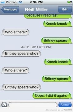 Funny Text Knock Knock Jokes 2 49 37 Best Disney Cruise Line Printable Iron On S and Magnets Funny Texts Jokes, Text Jokes, Dad Jokes, Stupid Funny Memes, Funny Relatable Memes, Haha Funny, Funny Posts, Funny Stuff, Text Pranks