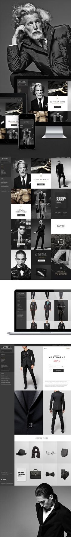 Showing the latest in men's fashions for big metro players. Web Design Examples, Creative Web Design, Web Ui Design, Best Web Design, Page Design, Website Design Layout, Web Layout, Layout Design, Webdesign Inspiration