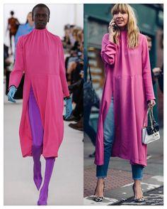 "30 Beğenme, 4 Yorum - Instagram'da @fforfemale: ""SS 2017 TRENDS: Shocking Pink  Runway vs. Street Style  #RunwayXStreetStyle #ss2017 #streetstyle…"""
