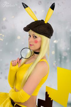 Detective Pikachu Detective, Pikachu, Cosplay, Clothing