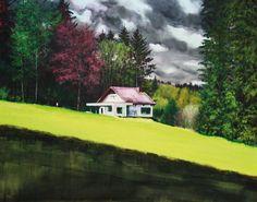 Film Hans Bruyneel Hans Bruyneel werd in 1959 geboren in Gent. Het is alsof de kunstenaar in zijn atelier in Borgerhout, in het midden van één van de meest vervuilde, lawaaierige en versnipperde landschappen van Europa aan het acute gebrek aan open ruimte en natuur wil ontsnappen door in de voetsporen van de Amerikaanse romantische…
