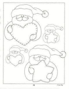 country - pao artesanias country y mas - Picasa Web Albums Christmas Colors, Christmas Art, Christmas Projects, Applique Templates, Applique Patterns, Owl Templates, Print Templates, Christmas Sewing, Christmas Embroidery