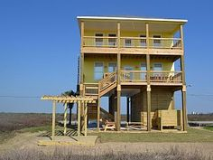 Galveston House Rental: Beach Front - Brand New Home, 2 Master Suites - 3 King Beds - Sleeps 16 | HomeAway