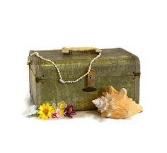 Maximillian Vintage hard shell suitcase by classicchoices on Etsy, $16.00