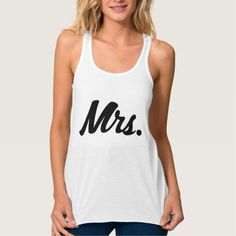 Mrs womens tank top