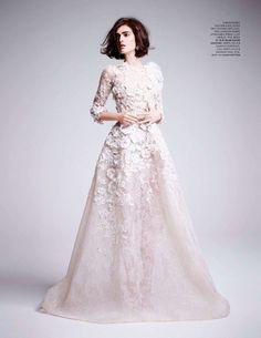 Anouk-Hagemeijer  by Kate-Davis-Macleod for Tatler UK 2013, bridal