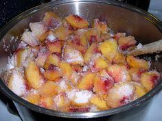 Almond Peach Jam Canning Recipe