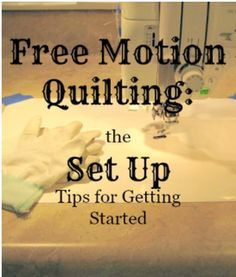 free-motion quilting, quilting, tips, art quilts, quilting, art quilting, suefreeberndesigns