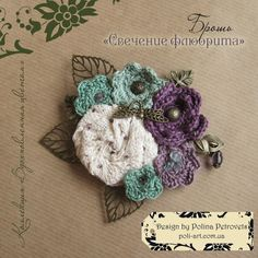 This item is unavailable Crochet Brooch, Crochet Earrings, Presents For Women, Creative Studio, Flower Brooch, Picture Show, Crochet Flowers, Factors, Boho Style