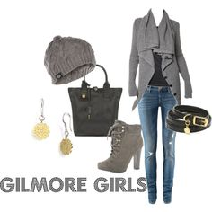 My creation inspired by Gilmore Girls' character Lorelai Gilmore.