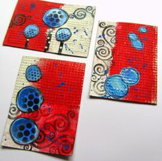 Red, White & Blue ATCs