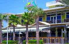 """Enjoy your """"Cheeseburger in Paradise"""" served with a """"Boat Drink"""" on the Gulf at Pier Park in Panama City Beach, FL. You might get lucky and have the owner, Jimmy Buffett, sing for you!"""