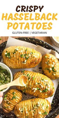 Healthy Potato Recipes, Healthy Holiday Recipes, Vegetable Recipes, Real Food Recipes, Vegetarian Recipes, Cooking Recipes, Vegetarian Thanksgiving, Thanksgiving Recipes, Gluten Free Thanksgiving