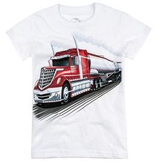 Shop Truck Shirts For Boys on Wanelo