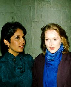 With Joan Baez in 1984