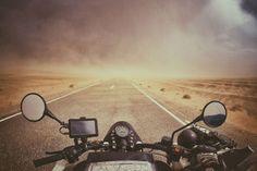 Tempestade de areia no deserto do Saara