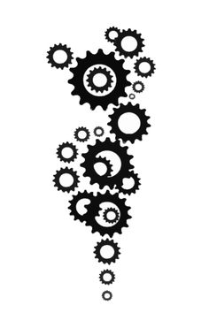 Think more delicate, but this is a part  of my broken watch gears tattoo