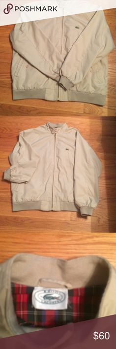 Lacoste jacket that is new w/o tags. Men's barracuda jacket! Lacoste Jackets & Coats Utility Jackets