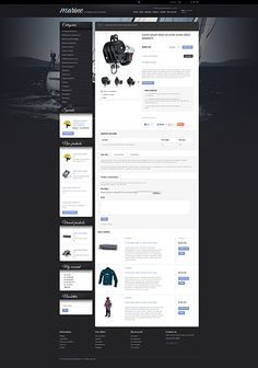 Schooner or Later You'll Be Shore to Fall in Love with these Marine & Boating PrestaShop Themes - Sailing Gear