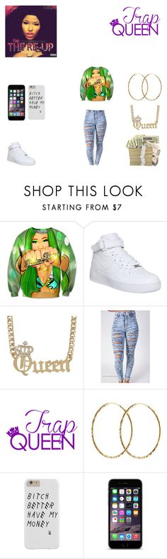 """""""trap queen"""" by heavenladybugsmith on Polyvore featuring NIKE and Pernille Corydon"""